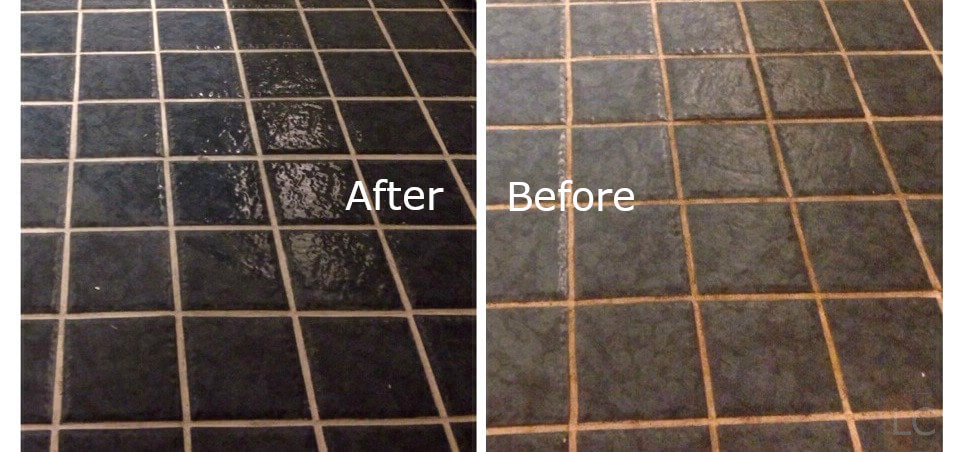 Before and After regrouting tiles - Guide to regrouting tiles regrout bathroom tiles