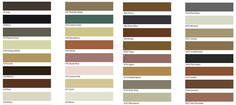 Choose grout color- Guide to regrouting tiles regrout bathroom tiles