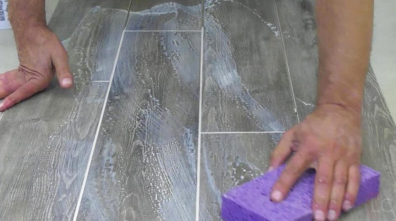 Clean excess grout - Guide to regrouting tiles regrout bathroom tiles