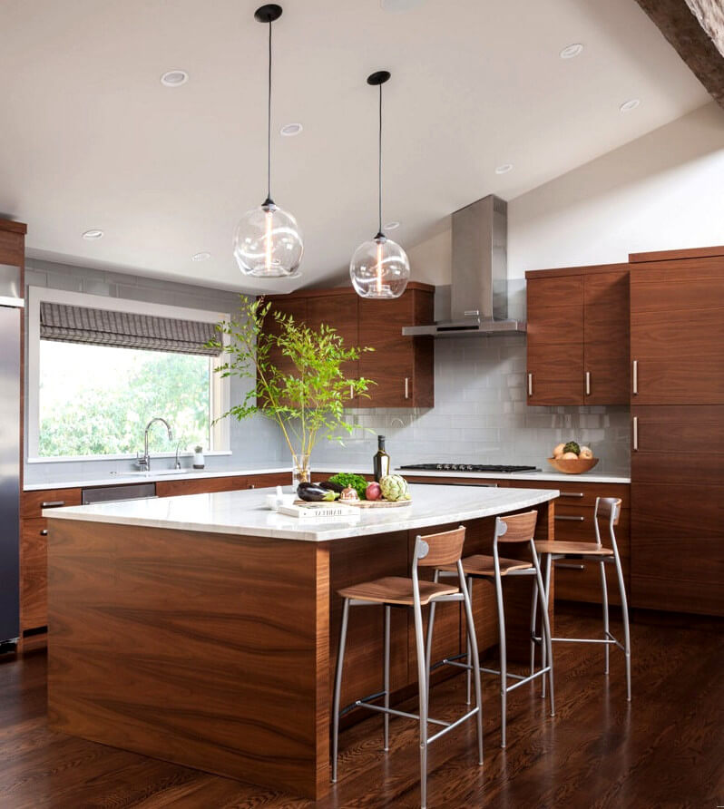 Pendant lights - kitchen lighting ideas - How to design kitchen lighting
