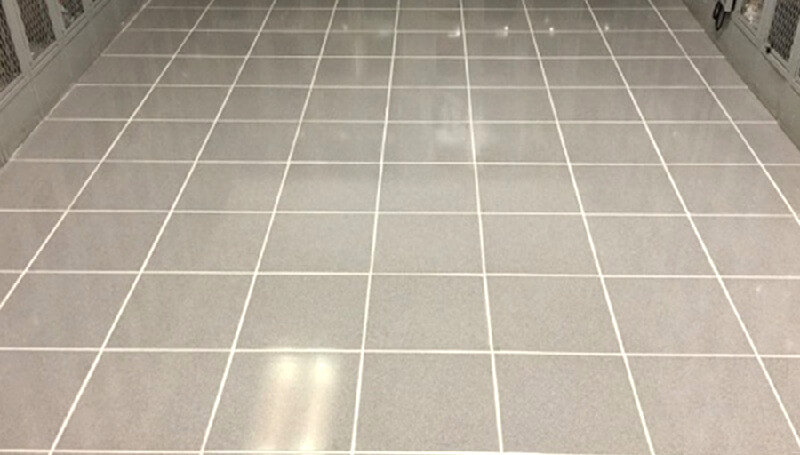 Tile grouting - Bathroom flooring - How to lay tile