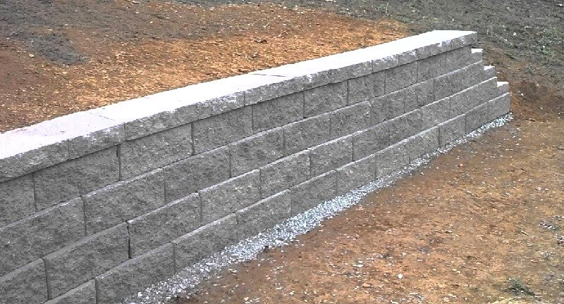 Concrete Retaining wall - how to build a retaining wall