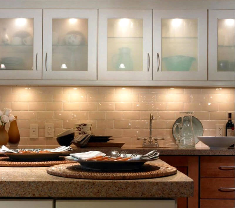 Countertop kitchen lighting ideas - How to design kitchen lighting