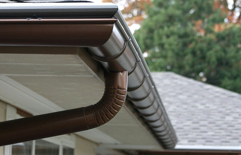 Downpipe adding - How to install guttering