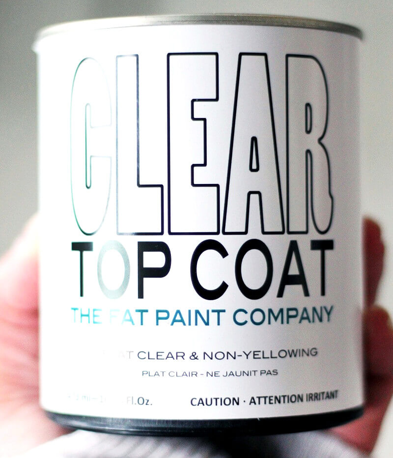 Apply topcoat - Tile paint - How to paint tiles