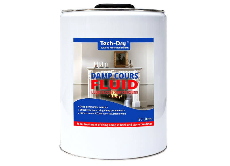 Tech Dry damp course fluid - rising damp -how to stop rising damp