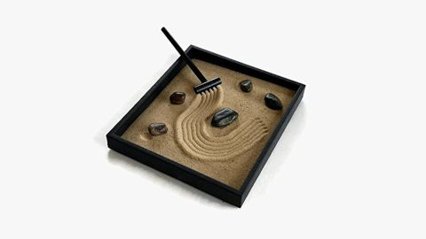 stressed at work? a zen garden might be the answer to helping you relax   cnn underscored