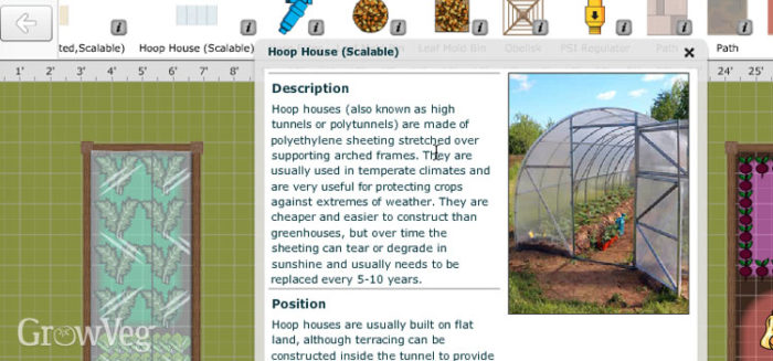 how to make a row cover tunnel (hoop house)