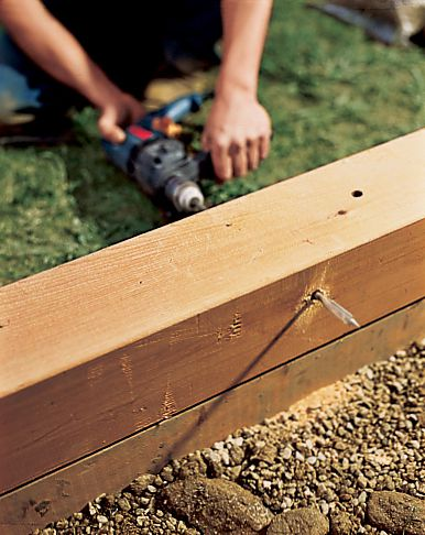 How to Build A Raised Planting Bed