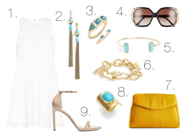 style guide: what to wear to a garden party