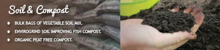 soil and compost for vegetable gardening